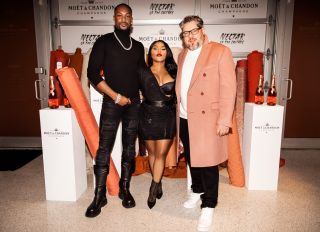 Moet Chandon Dinner featuring Jonathan Mannion, Wale, Lil Kim and LaQuan Smith