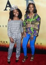 Princess Alwaz Carey and Princess Octavia Carey Focus Features VIP Screening of Harriet