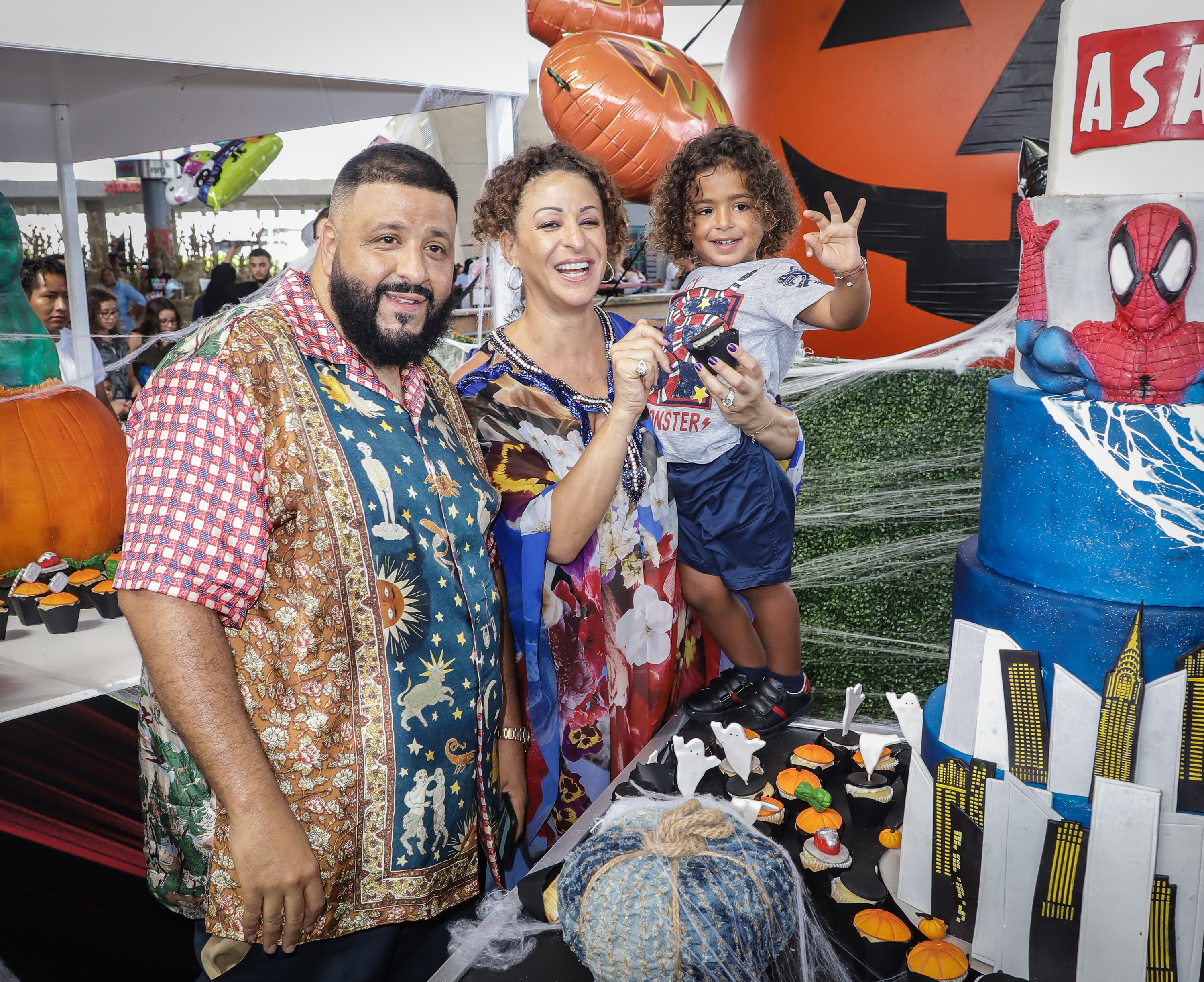 Asahd Celebrates 3rd Birthday With We The Best Foundation Bash