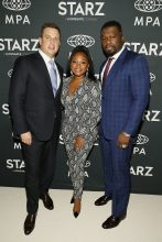 50 Cent x Naturi Naughton At Mid-Season Screening