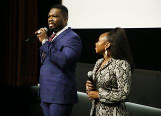 50 Cent x Naturi Naughton At Mid-Season Screening