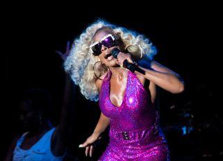 Mary J. Blige at the 2019 Cincinnati Music Festival
