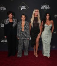 Kardashians 45th Annual Peoples Choice Awards in Los Angeles