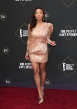 Jeannie Mai 45th Annual Peoples Choice Awards in Los Angeles