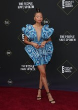 Storm Reid 45th Annual Peoples Choice Awards in Los Angeles