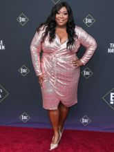 Loni Love 45th Annual Peoples Choice Awards in Los Angeles