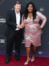 James Welsh Loni Love 45th Annual Peoples Choice Awards in Los Angeles