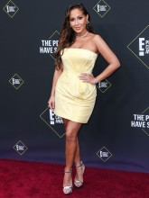 Adrienne Bailon Houghton 45th Annual Peoples Choice Awards in Los Angeles