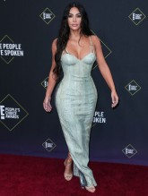 Kim Kardashian West 45th Annual Peoples Choice Awards in Los Angeles