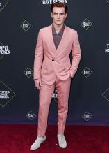 KJ Apa 45th Annual Peoples Choice Awards in Los Angeles