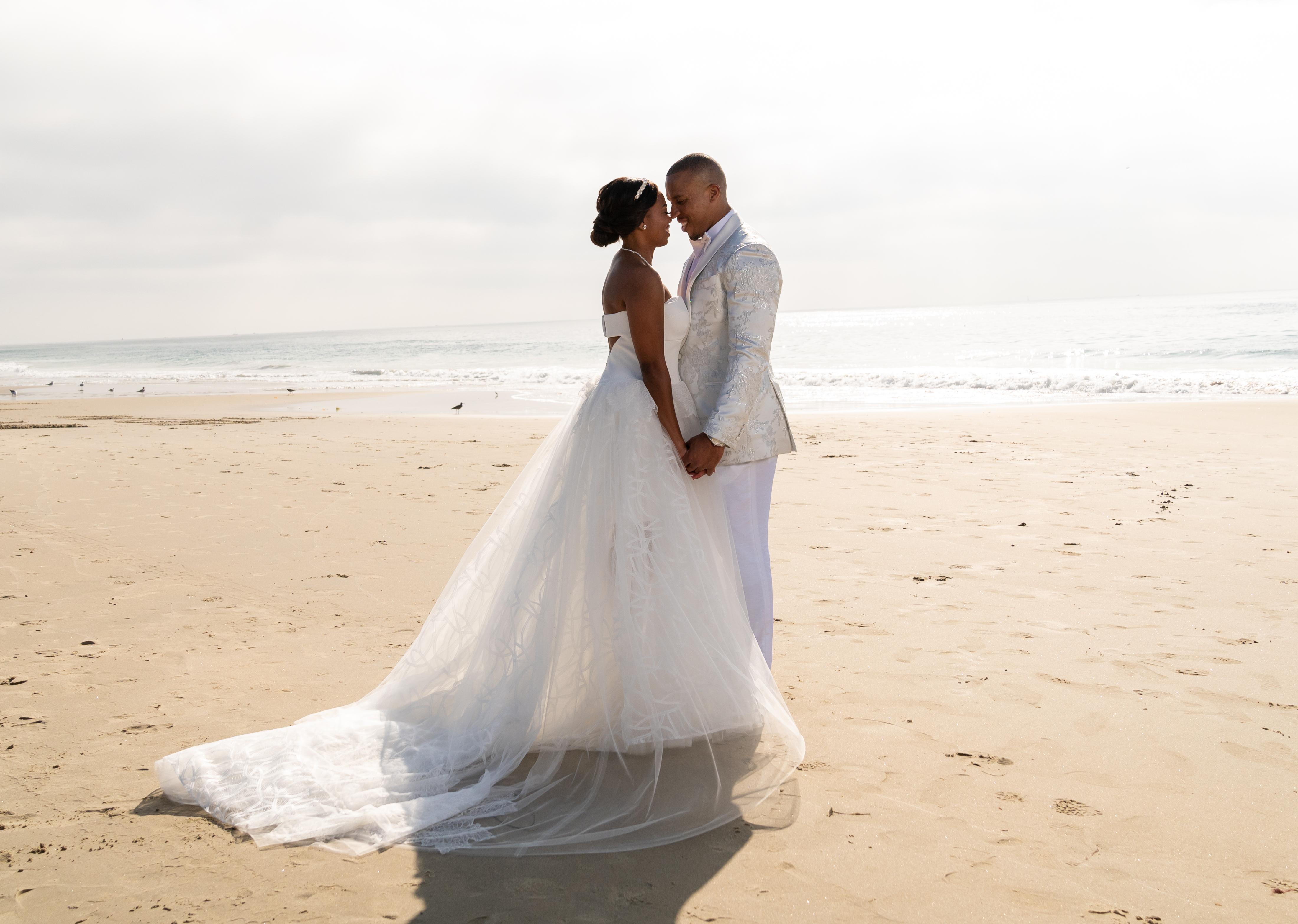 Jemele Hill Ian Wallace Wedding 2