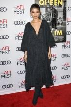 Zendaya attends Premiere of 'Queen & Slim' at AFIFest