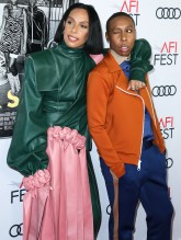 Melina Matsoukas and Lena Waithe attend Premiere of 'Queen & Slim' at AFIFest
