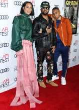 Melina Matsoukas The Dream and Lena Waithe attend Premiere of 'Queen & Slim' at AFIFest