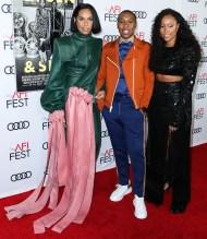 Melina Matsoukas Shiona Turini and Lena Waithe Premiere of 'Queen & Slim' at AFIFest