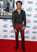Jelani Winston attends Premiere of 'Queen & Slim' at AFIFest