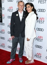 Flea and Melody Ehsani attend Premiere of 'Queen & Slim' at AFIFest