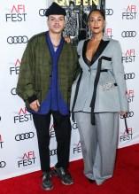 Evan Ross Tracee Ellis Ross attend Premiere of 'Queen & Slim' at AFIFest
