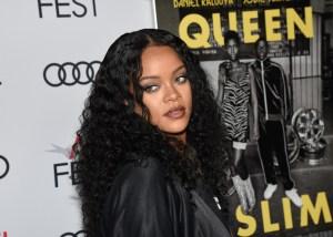 Rihanna attends Premiere of 'Queen & Slim' at AFIFest