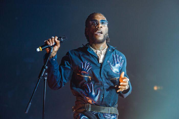 Burna Boy Performs At SSE Arena Wembley, London