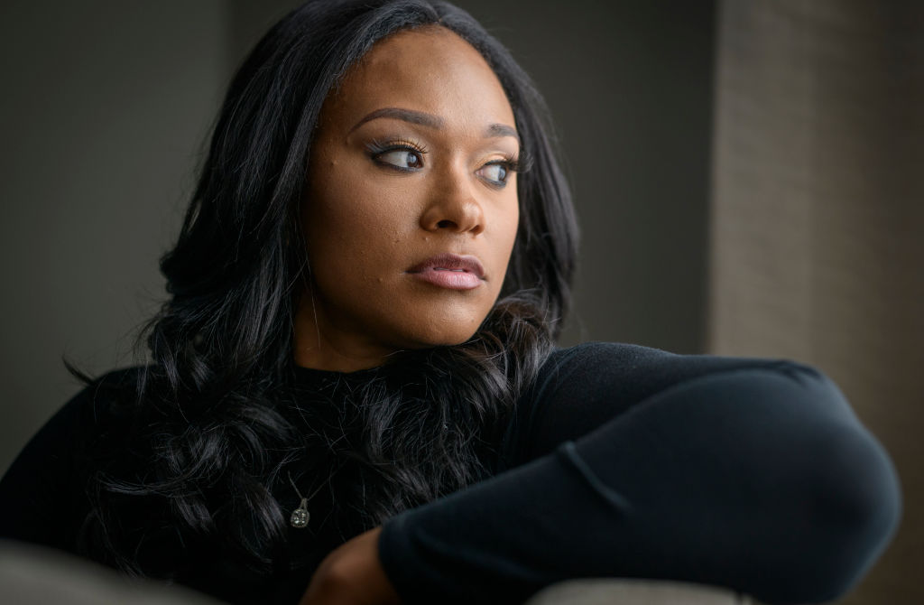 Lisa Van Allen, who was involved with the singer R. Kelly.