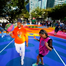 Royal Court Basketball Opening in Miami