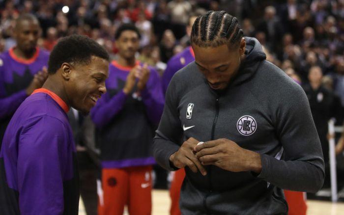 Toronto Raptors play the LA Clippers