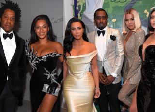 Beyonce, Jay Z, Diddy, kardashians