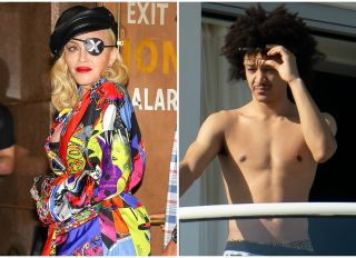 Madonna and new boyfriend Ahlamalik Williams