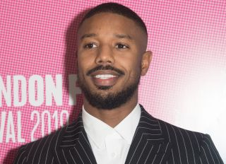 Michael B. Jordan attends a photo call and screen talk for 'Just Mercy' at The 63rd BFI London Film Festival at Odeon Luxe, Leicester Square, London, England, UK on Sunday 6 October 2019. Picture by Justin Ng/Retna/Avalon.