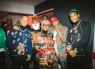 Terrence J x Patron Christmas Party