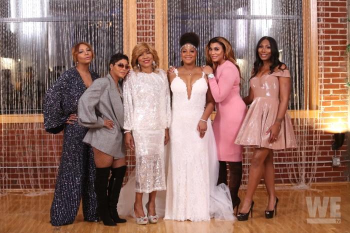 Trina Braxton Wedding