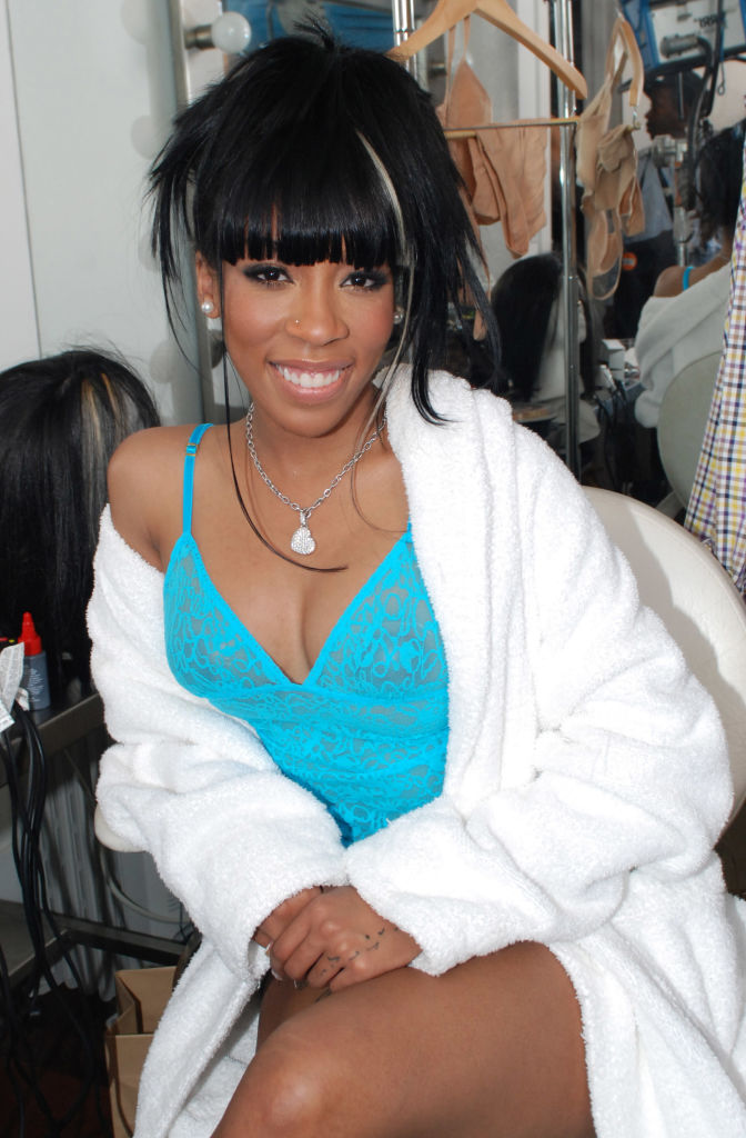 """K Michelle's """"Fallen"""" Video Shoot - March 26, 2010"""