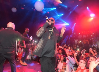 Rick Ross, Saweetie, Quavo, T-Pain at LIGHT Nightclub
