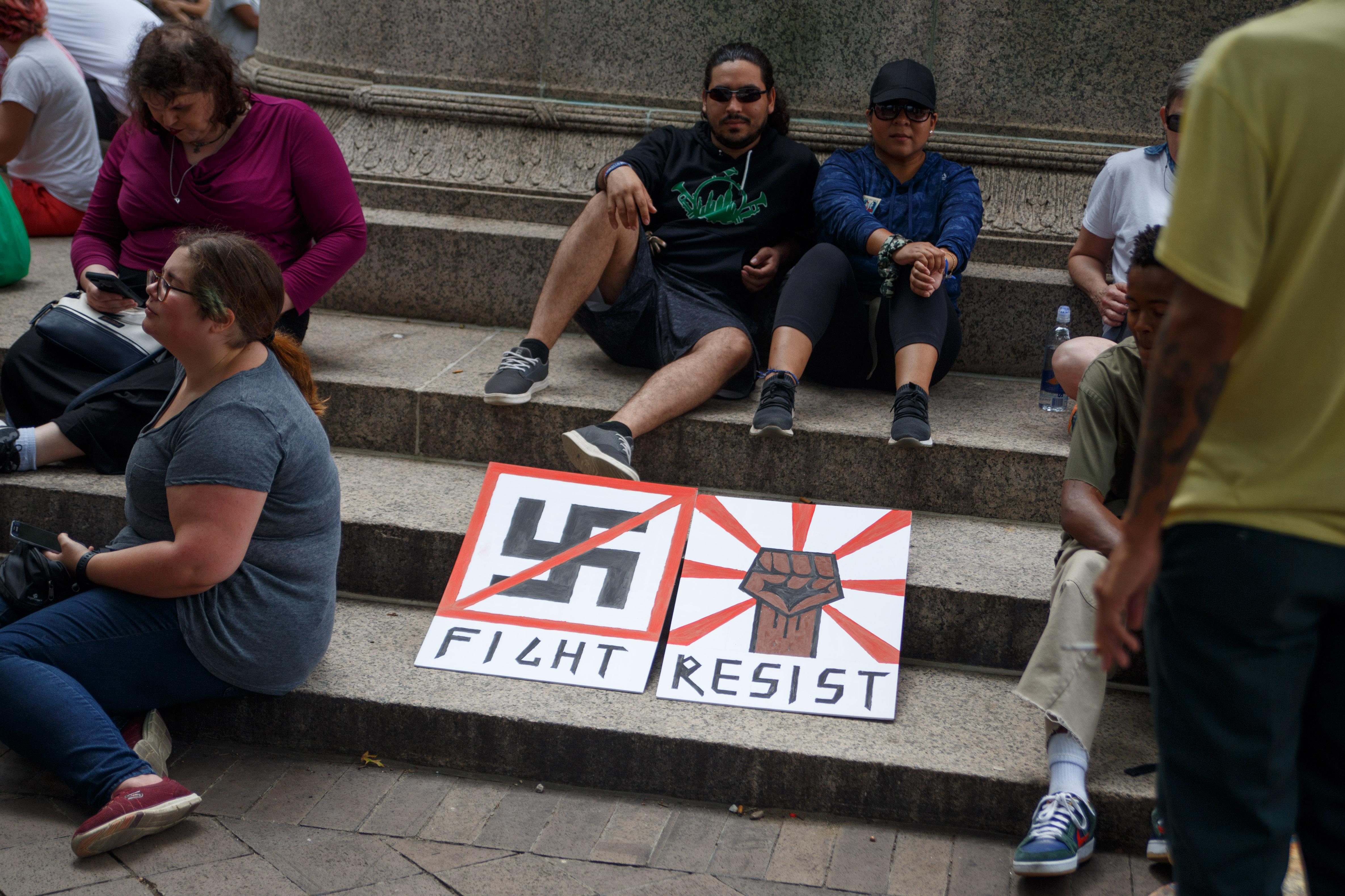 Resist Charlottesville Rally