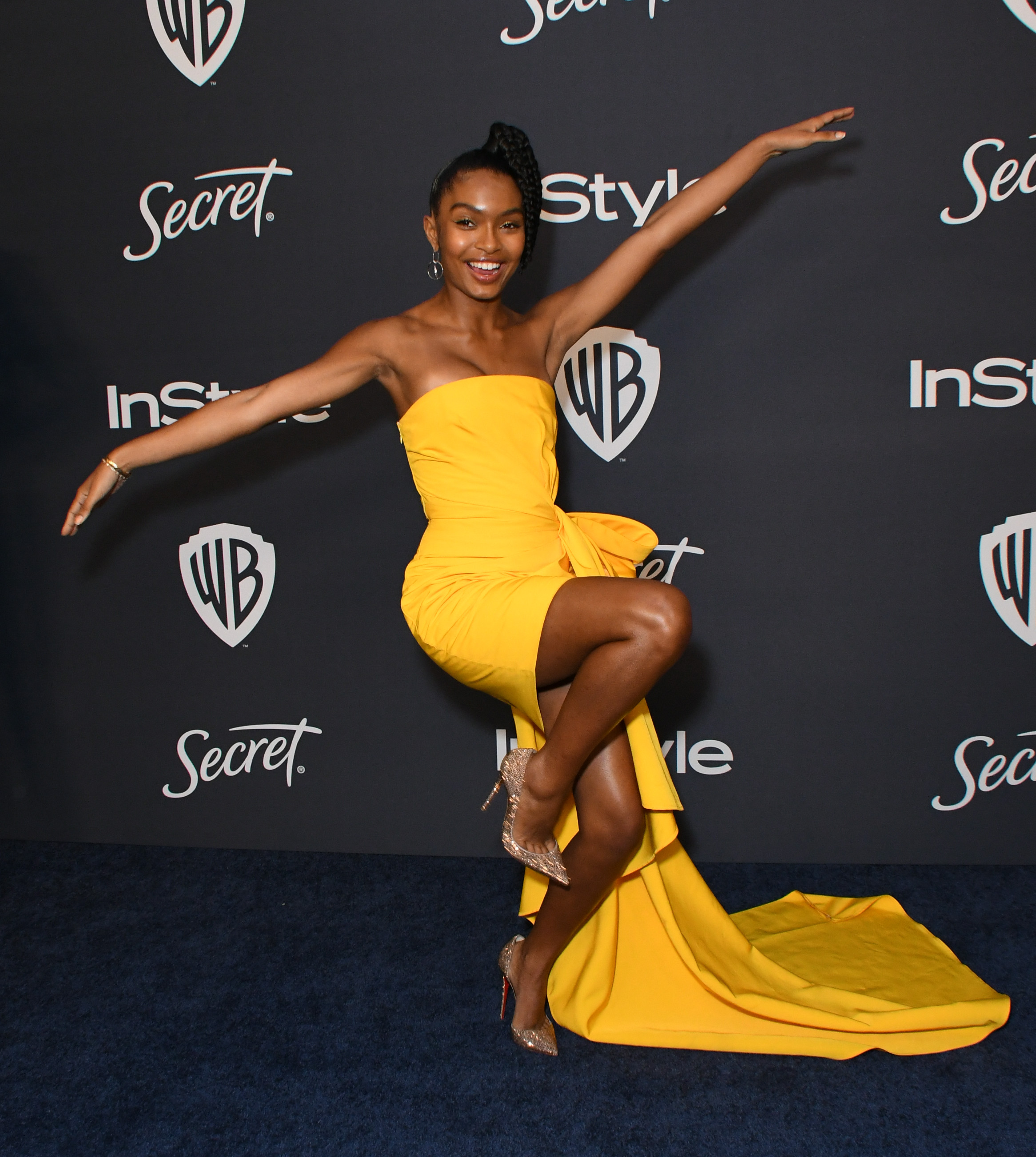 Yara Shahidi InStyle & Warner Bros. Golden Globes Afterparty