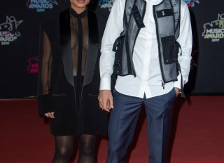 Christina Milian and boyfriend Matt Pokora