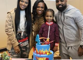 Ace Tucker's 4th Birthday (son of Kandi Burruss and Todd Tucker)