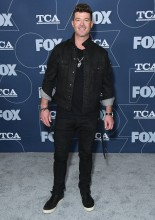 Robin Thicke attends Fox Winter TCA All Star Party