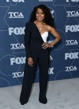 Angela Bassett at the Fox Winter TCA All Star Party