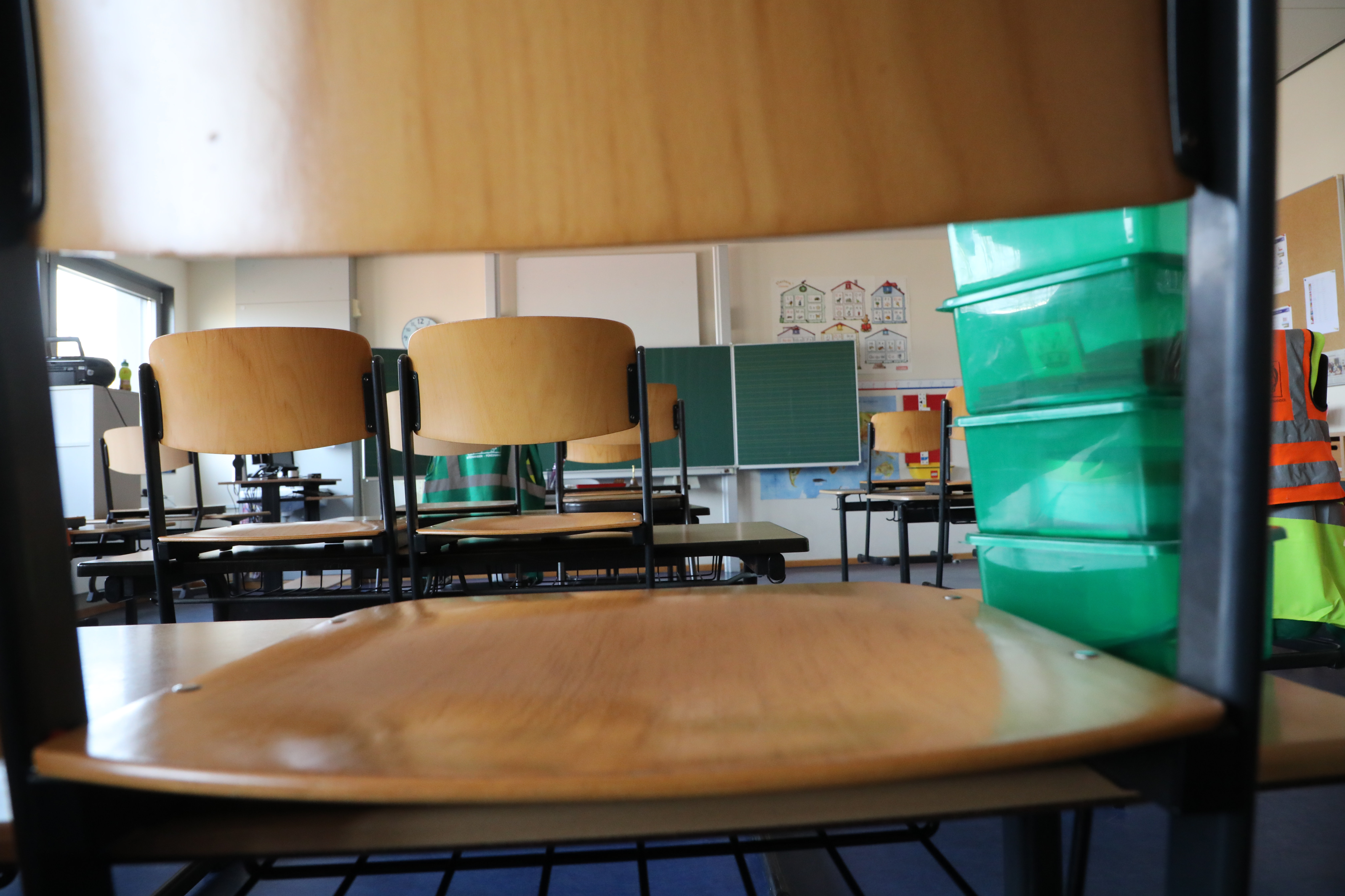 Stock classroom photo