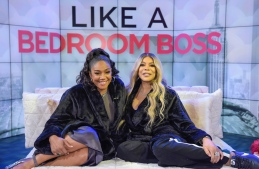 Tiffany Haddish and Wendy Williams