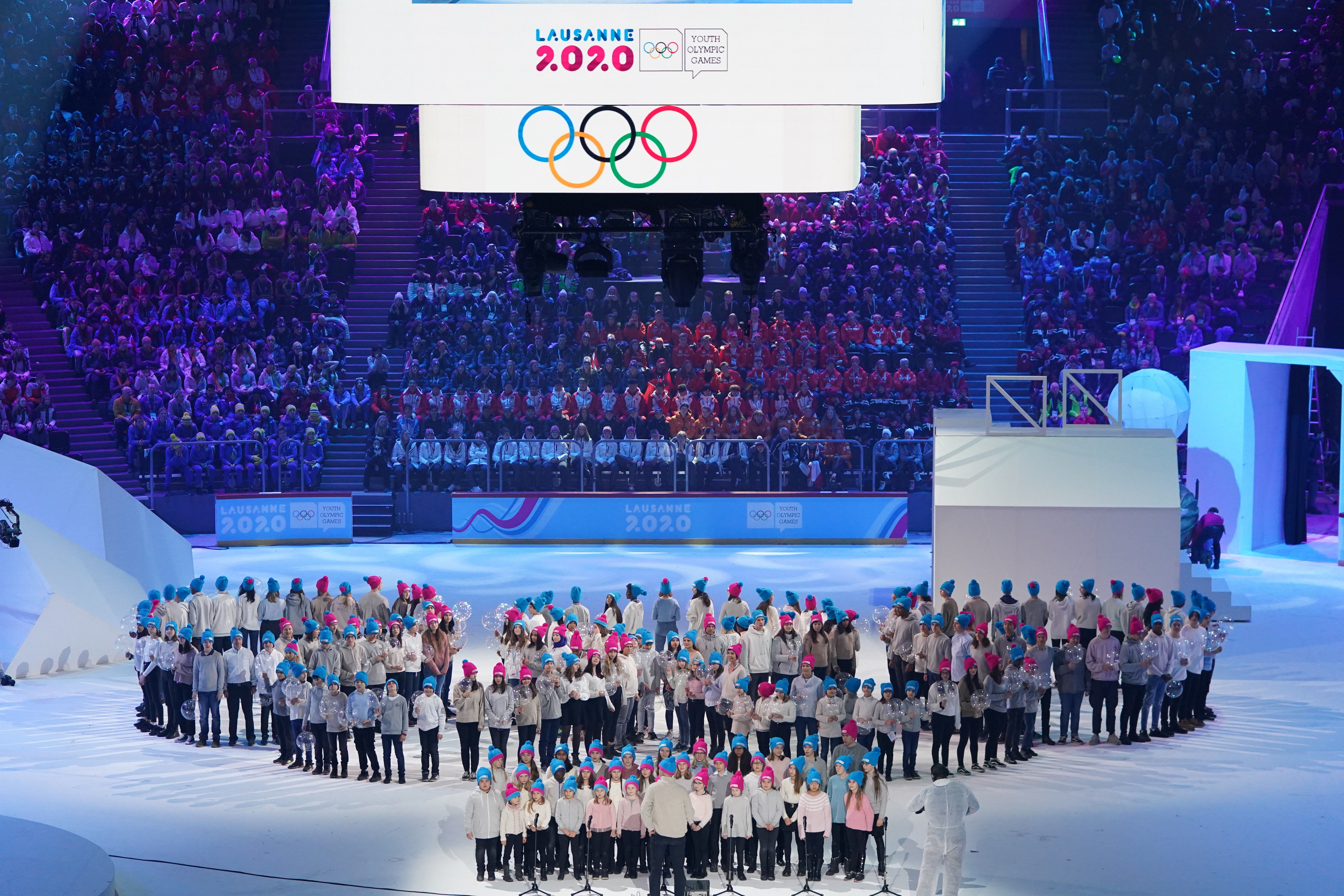 Olympic Rings Formation