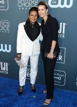 Wanda and Alex Sykes 25th Annual Critic's Choice Awards