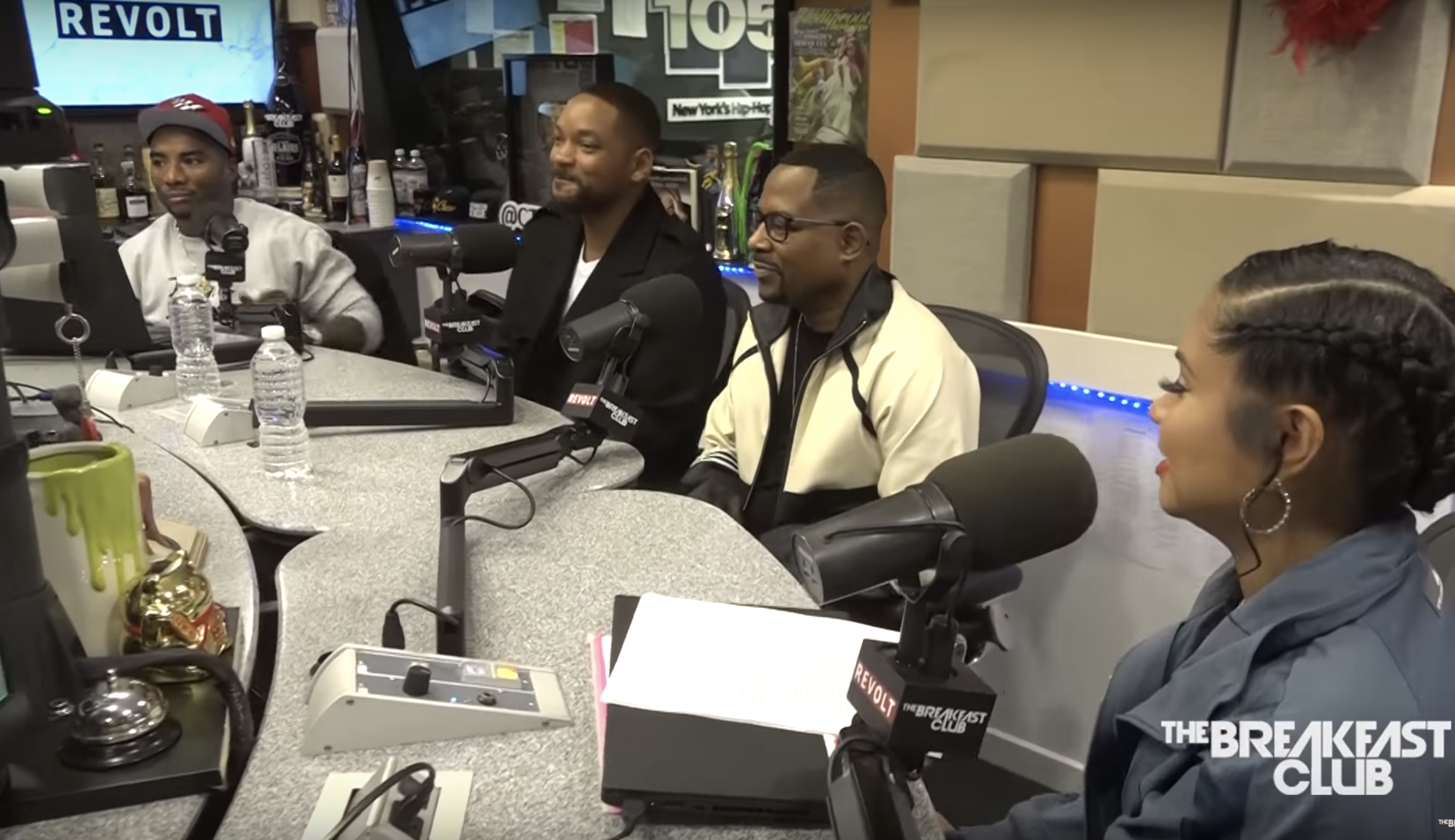 Will Smith Martin Lawrence The Breakfast Club