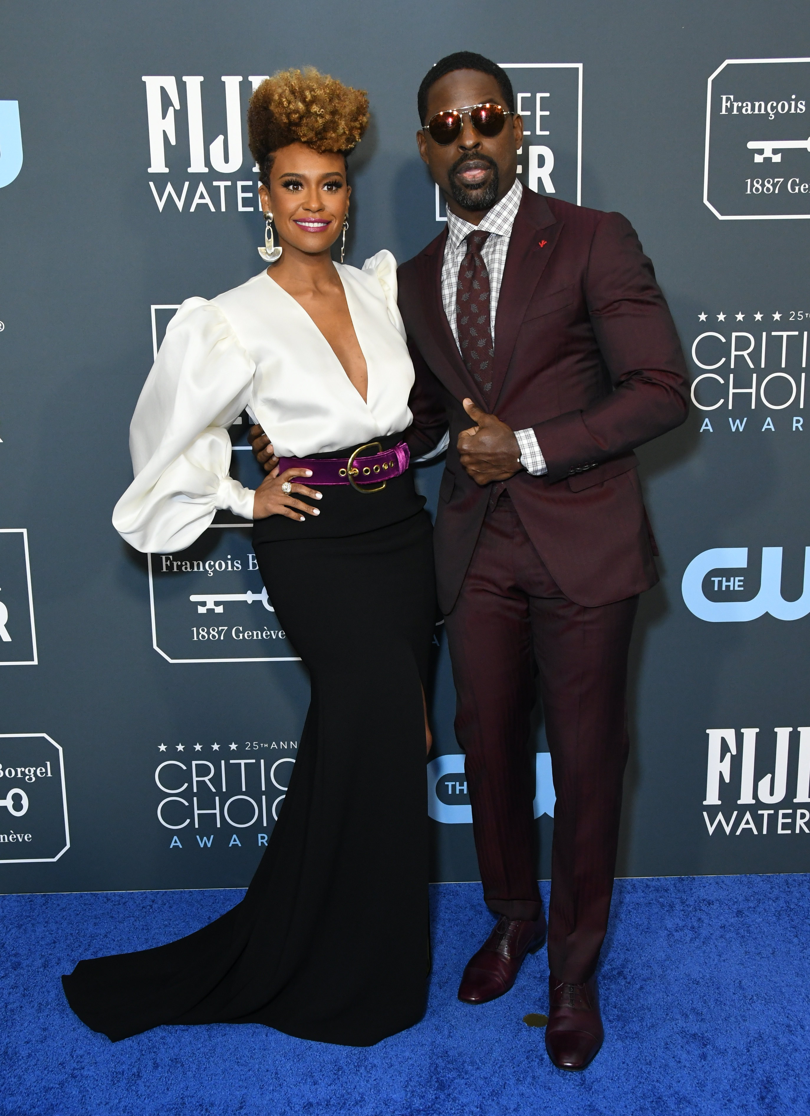 Ryan Michelle Bathe Sterling K. Brown 25th Annual Critic's Choice Awards