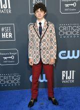 Noah Jupe 25th Annual Critic's Choice Awards