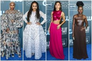 Cynthia Erivo Ava Duvernay Zendaya Lupita Nyong'o 25th Annual Critic's Choice Awards