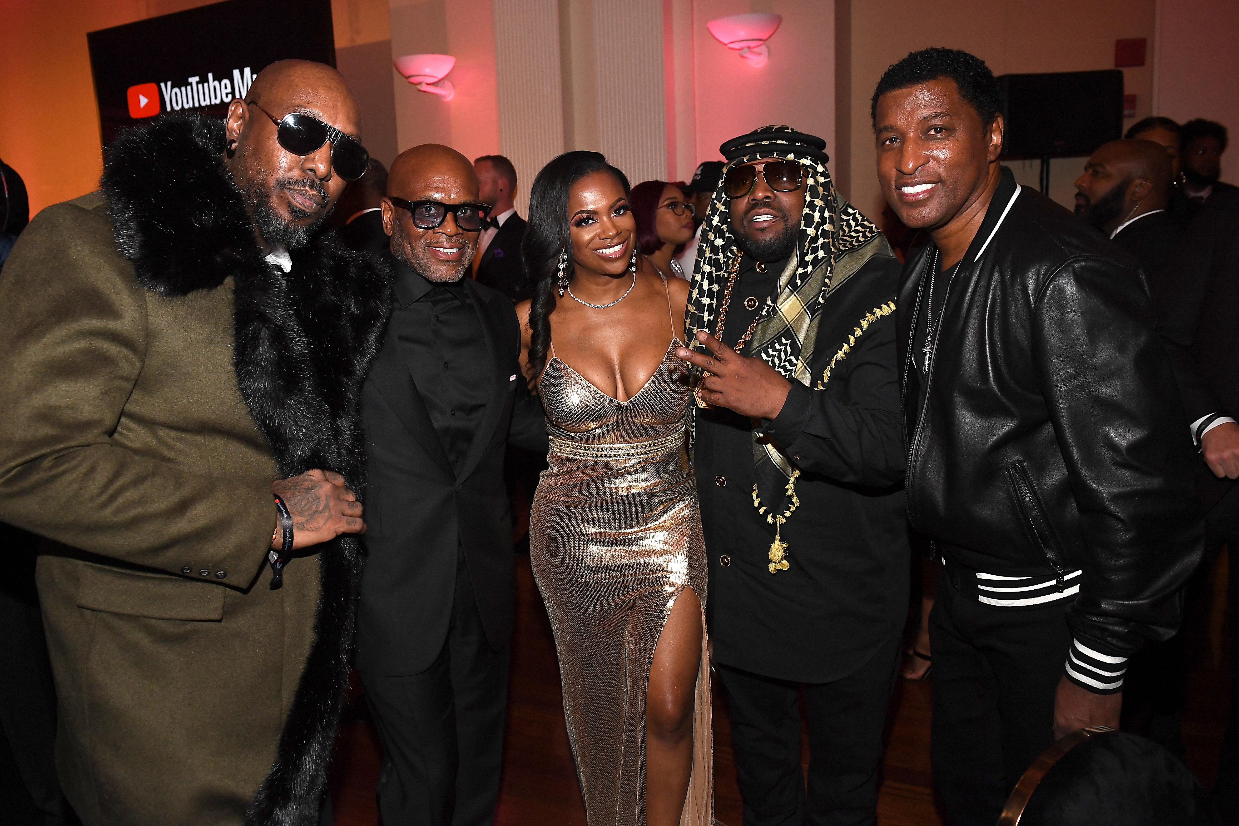 Sleepy Brown, L.A. Reid, Kandi Burruss, Big Boi and Babyface attend YouTube Music 2020 Leaders & Legends Ball