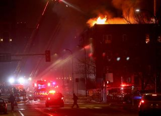 Donations pour in after homeless families were displaced due to a fire at the Francis Drake apartments